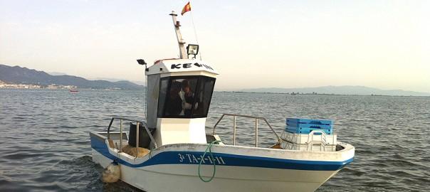 La barca de pesca de Agustí en el Delta del Ebro
