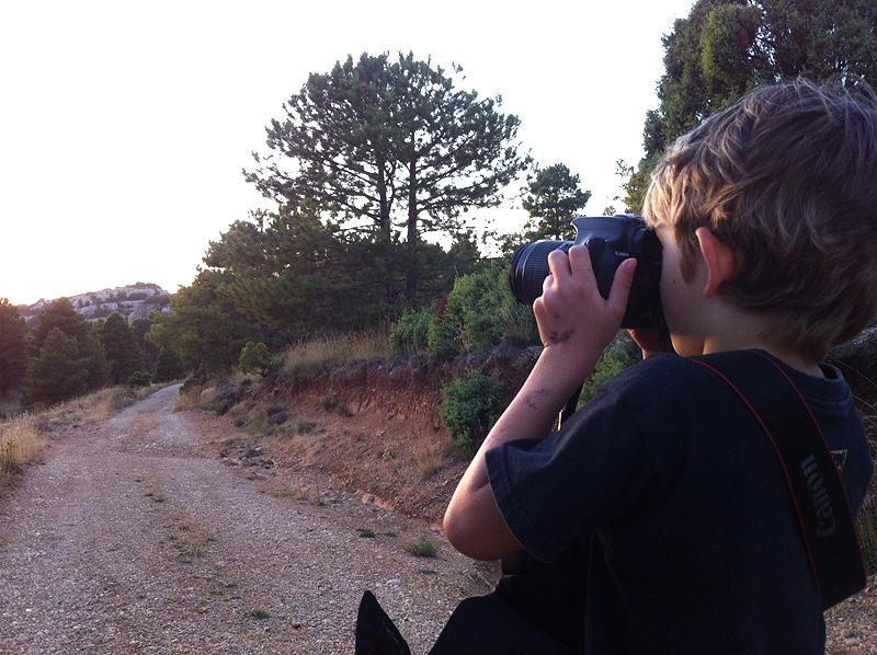 viajar con niños ¿Un futuro blogger de viajes?