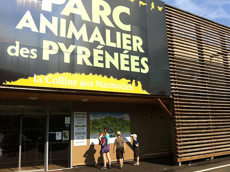 Entrada al Parque de Animales del Pirineo