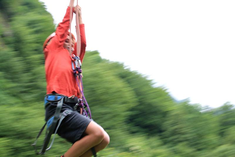 Adrenalina infantil a tope en los Altos Pirineos