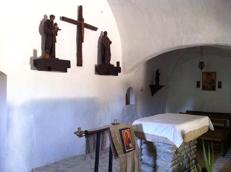 Interior de la ermita de Sant Antoni