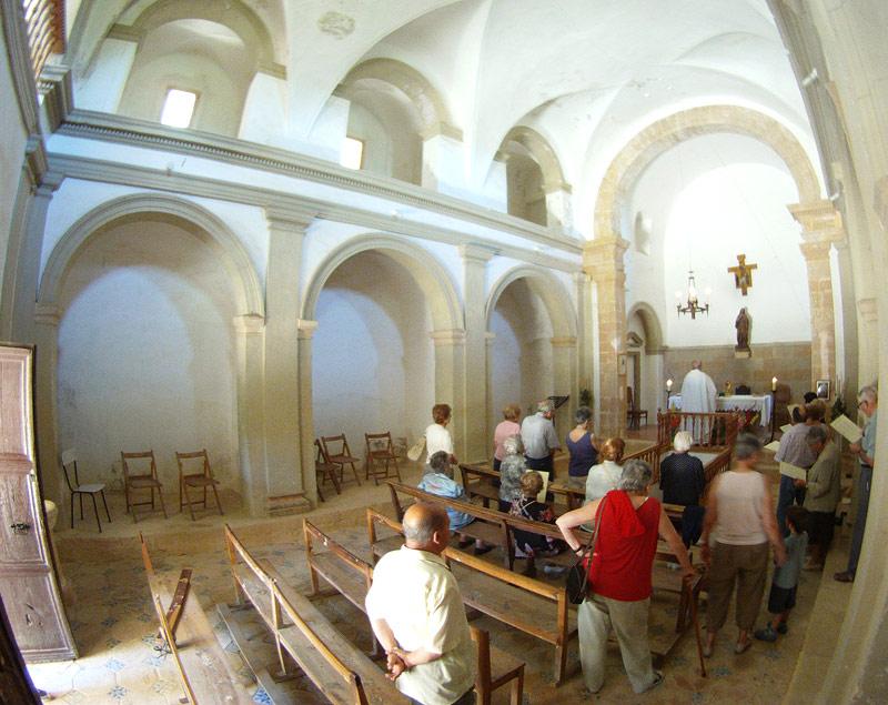 Interior de Santa Magdalena
