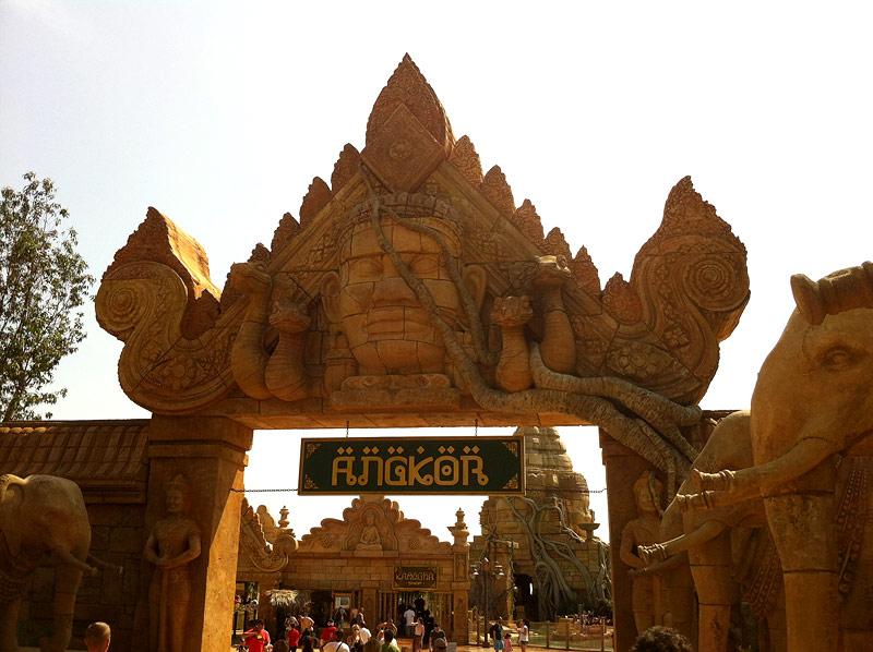 Angkor, una de las novedades de PortAventura