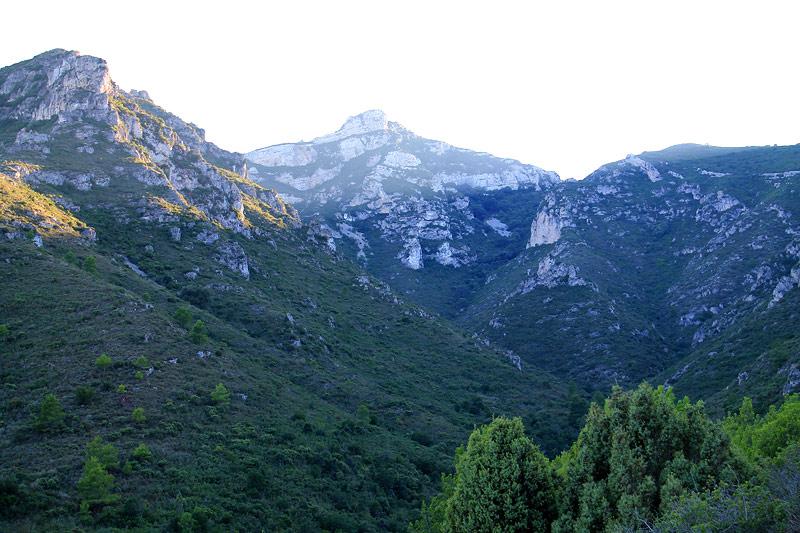 Cimas de la Serra de Montsià