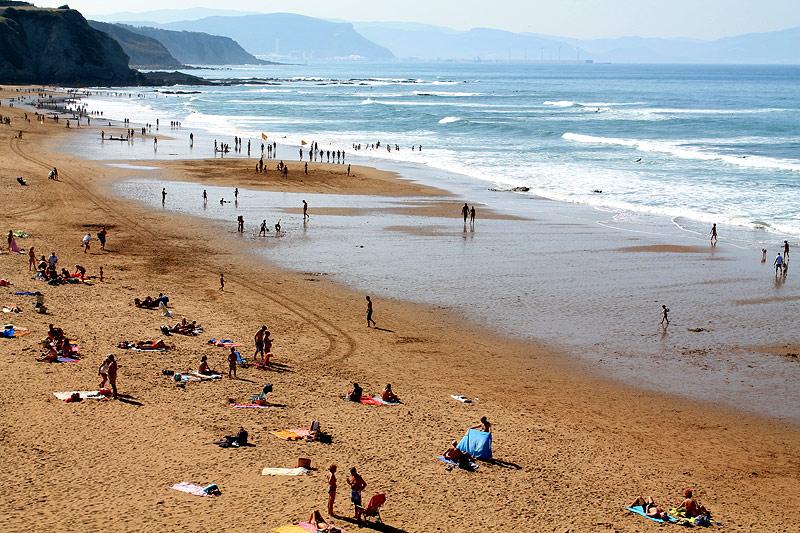 Playa en Sopela - Bizkaia Costa Vasca
