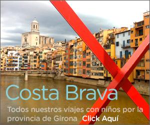 viajes con niños en Costa Brava y Girona