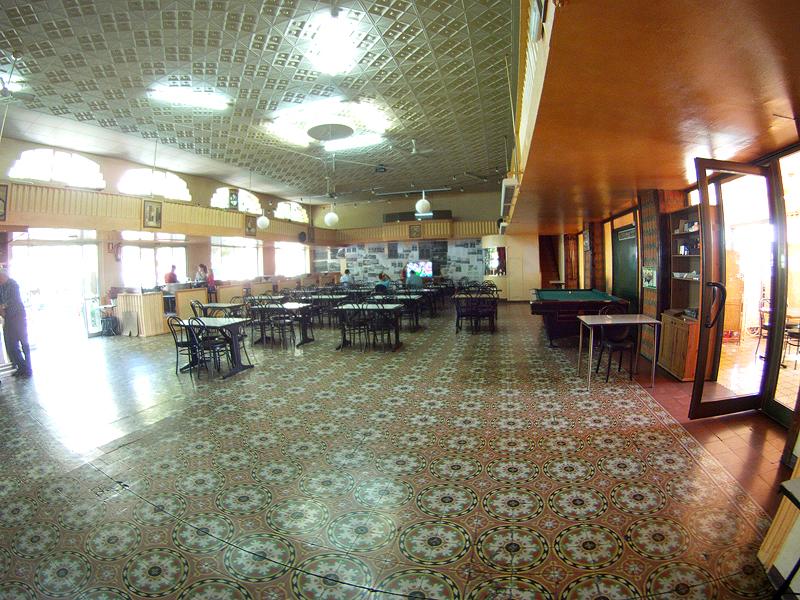 Interior del Casino de Cardona