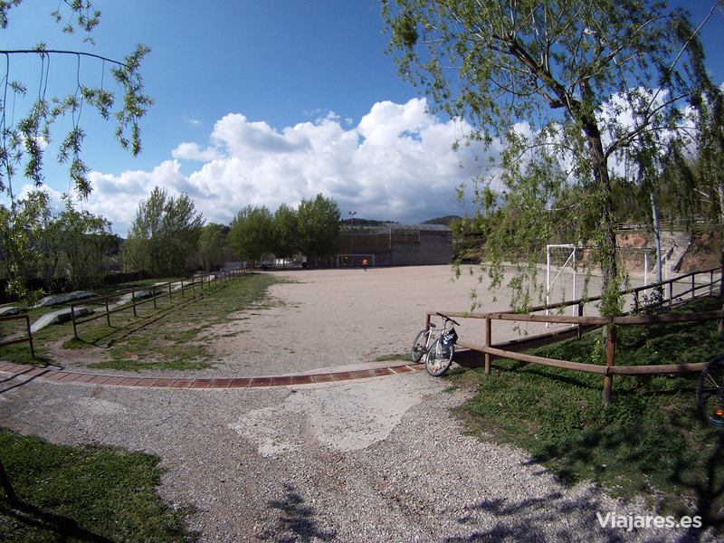 Campo de fútbol del camping