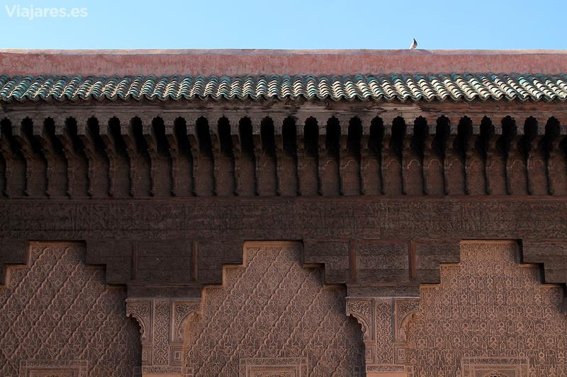 Artesanías de todo tipo en la Madraza de Ben Youssef de Marrakech
