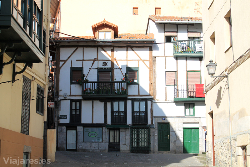 Rincones en el pueblo de Lekeitio