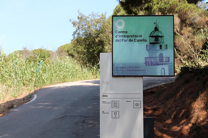 Camino de acceso al Far de Calella