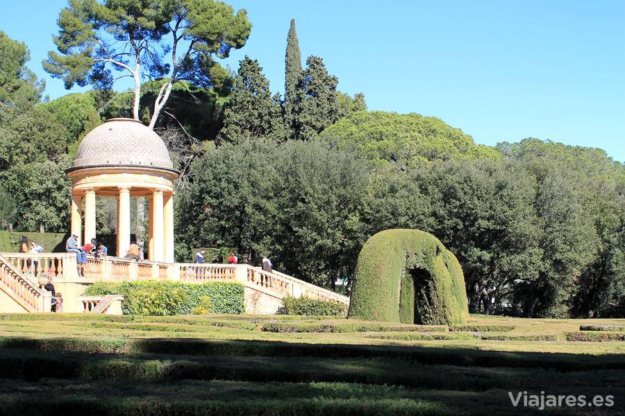 El Parc del Laberint d'Horta es de los más antiguos de Barcelona
