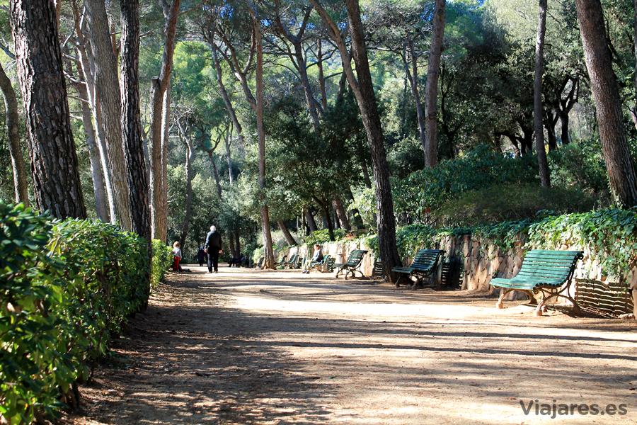Visitar el parque del laberinto de horta en barcelona for Parques ninos barcelona