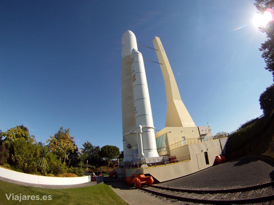 El imponente cohete Ariane 5