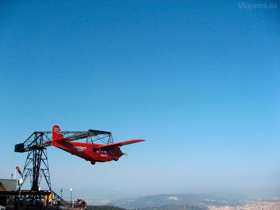 El Avión, un simulador de vuelo con Barcelona como telón de fondo