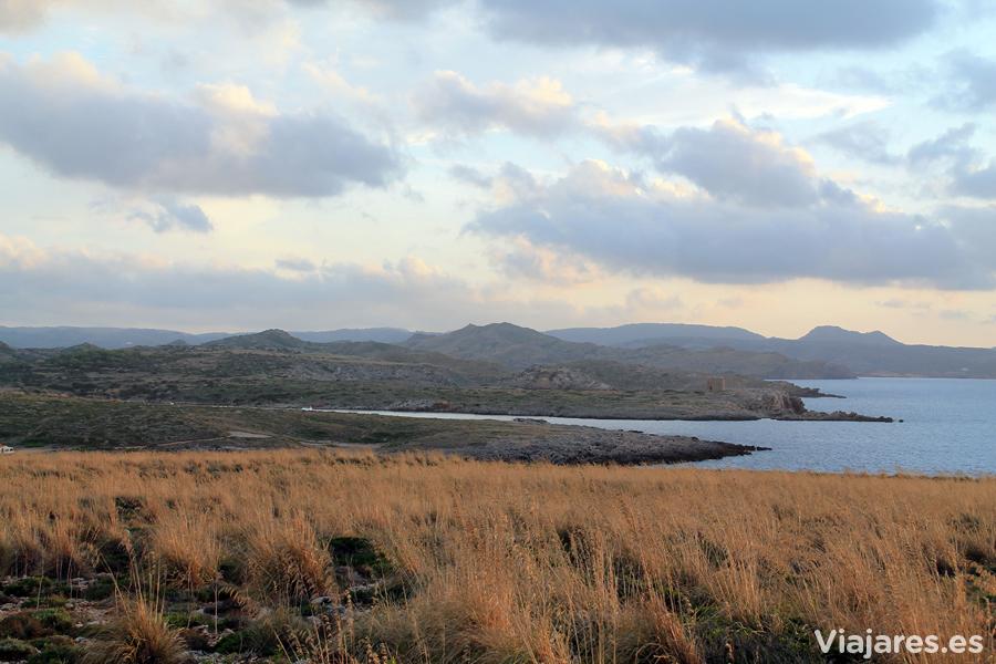 Paisaje en las cercanías de Cap Cavalleria, Menorca