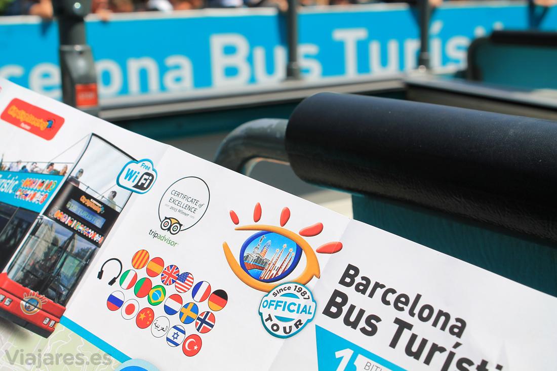 Un día con niños por Barcelona con el Bus Turístic