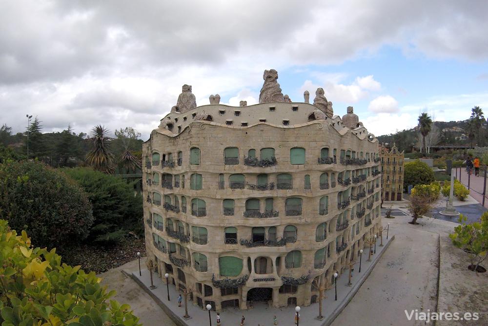 Circuito La Pedrera : Catalunya en miniatura maquetas a escala y circuitos de