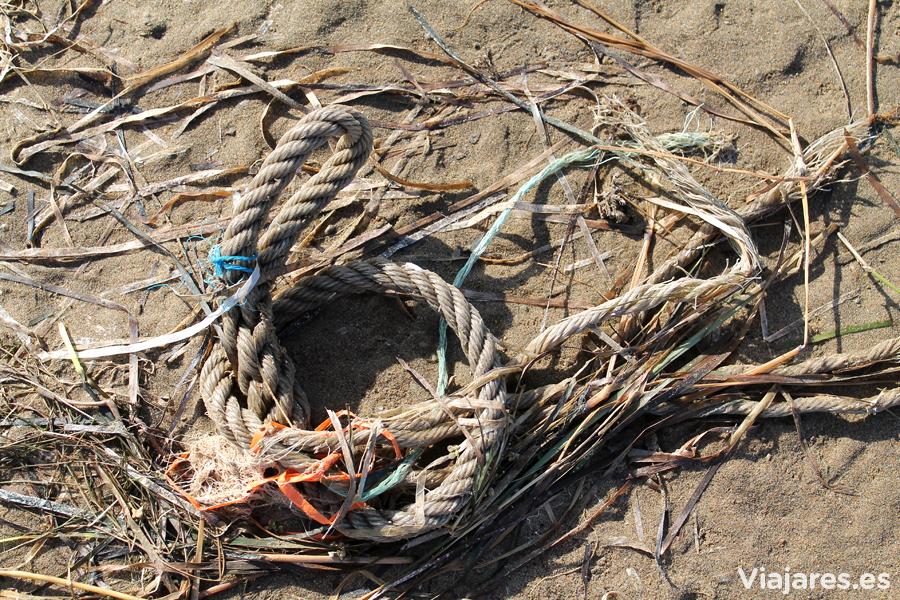 Cada objeto que el mar deposita tiene una historia