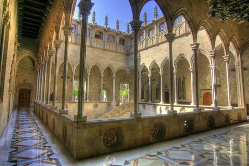 Patio Gótico en el Palau de la Generalitat