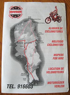 Cabo Verde ciclomotores