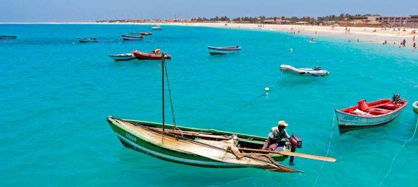 Playa en Cabo Verde