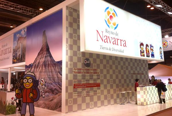 Stand de Navarra en Fitur12