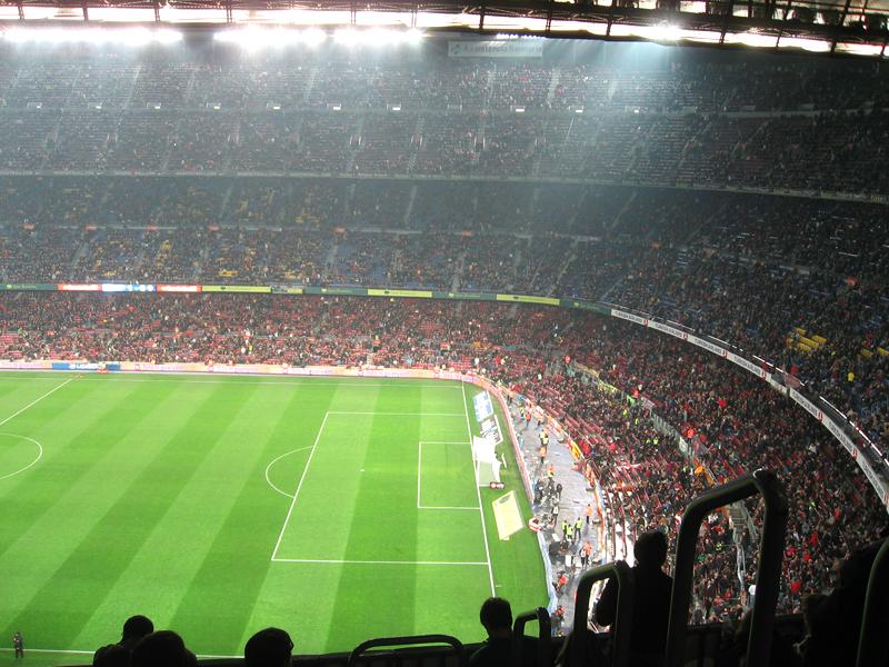 Asisitir a un partido del Barça en el Camp Nou de Barcelona  05d7ed53572