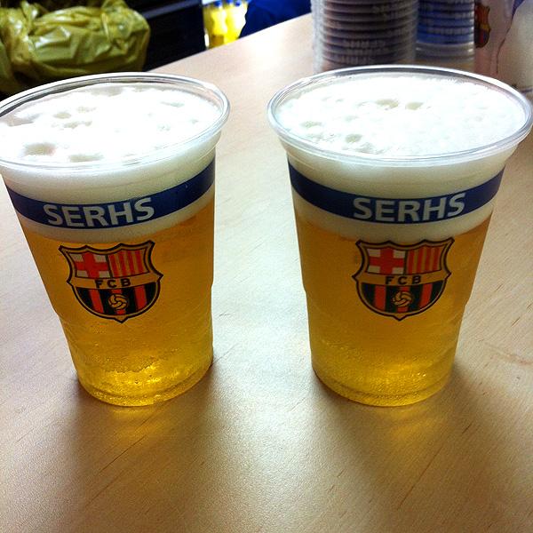 Cervecitas del Camp Nou, Barcelona