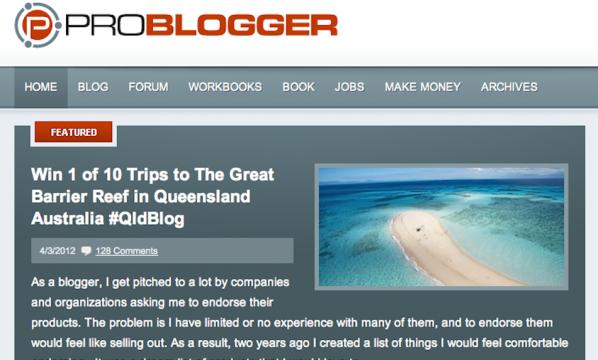Concurso Problogger
