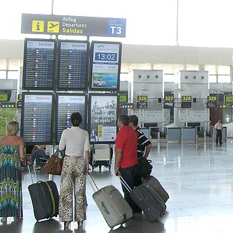 aeropuerto malaga pasajeros salidas