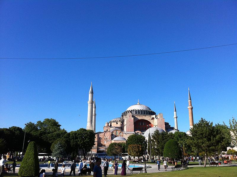 Hagia Sofia, icono de la ciudad de Estambul