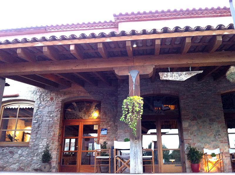 Entrada del Hotel rural Molí de la Torre