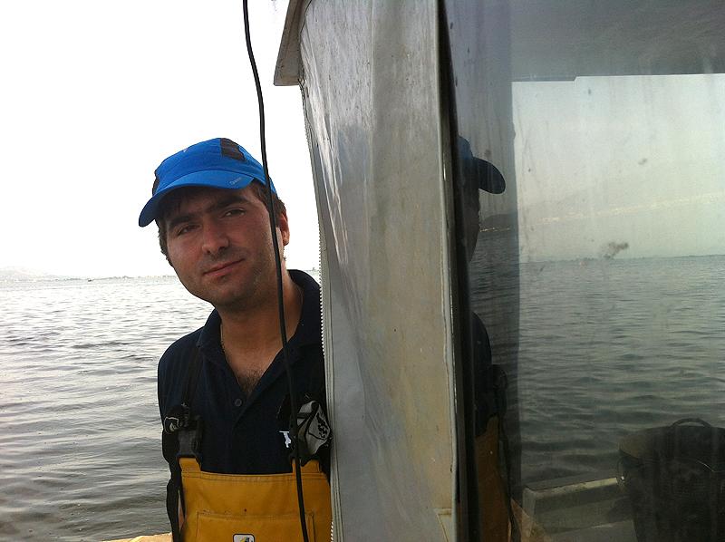 Agustí nos transmitió sus conocimientos de pesca tradicional