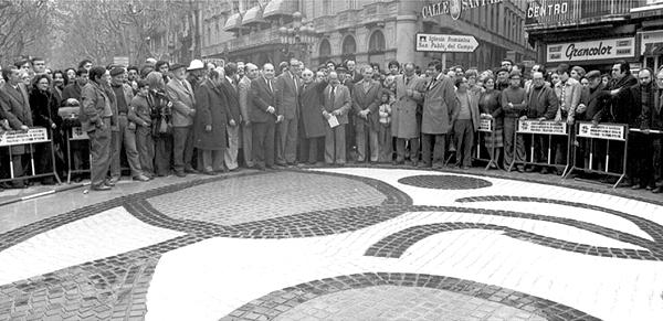 Inauguración en diciembre de 1976