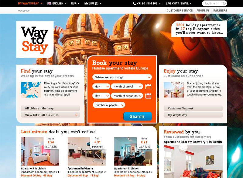 WaytoStay website