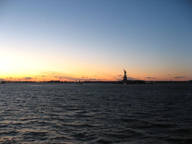 La archifamosa Estatua de la Libertad
