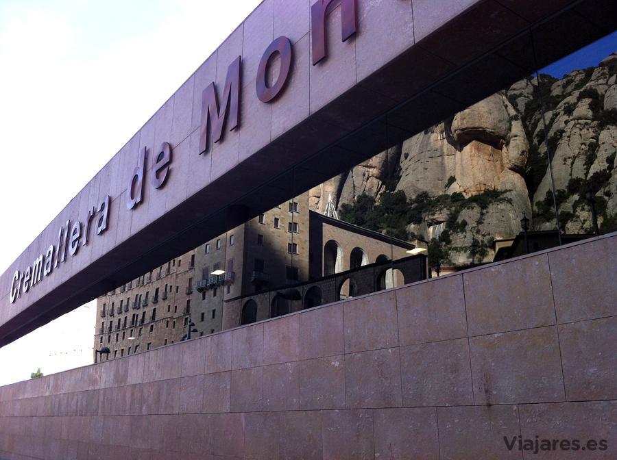 Estación superior del Cremallera de Montserrat