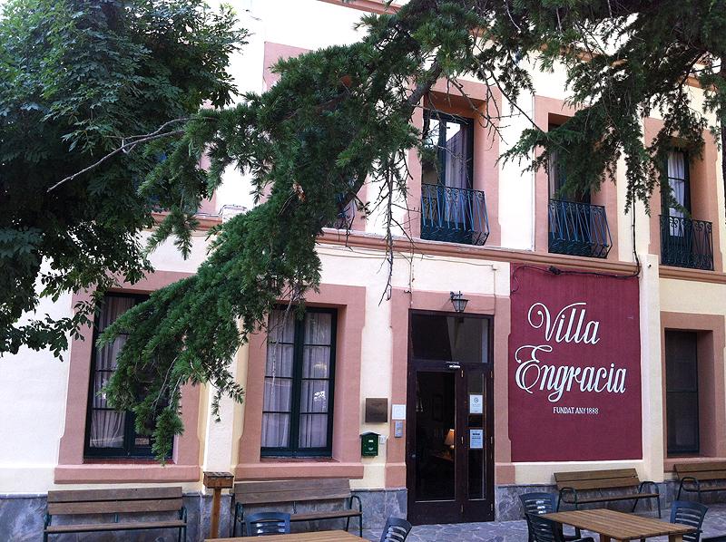 Fachada del hotel rural Villa Engracia