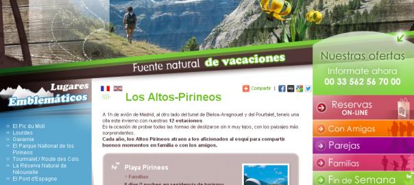 Sitio oficial de Hautes-Pyréneés - Altos Pirineos