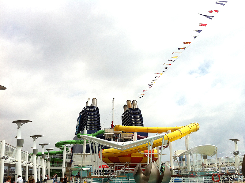 Parque acuático - Nowegian Cruise
