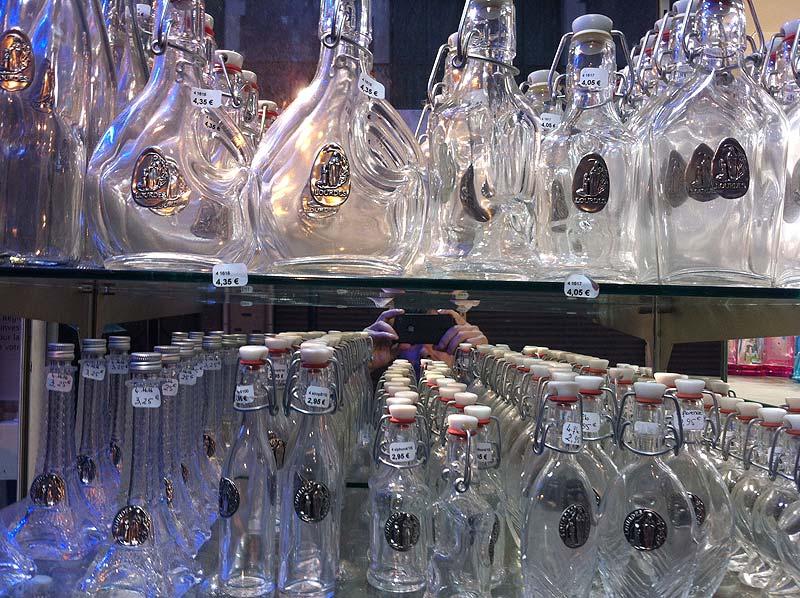 Botellas para el agua de Lourdes
