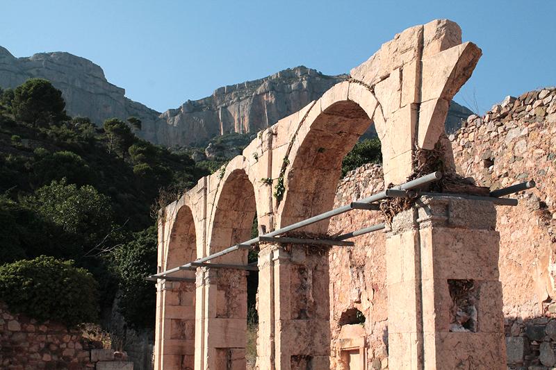 Arcos del Claustro grande o Maius