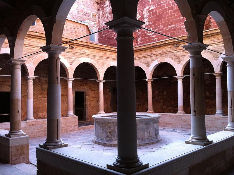 Claustro Menor de la Cartuja de Santa María de Escaladei
