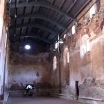 Espacio ocupado por la antigua sala refectorio