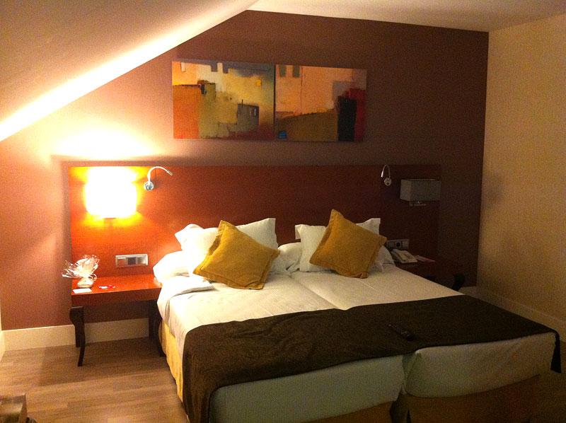 Mi habitación en el hotel Puerta de Toledo