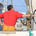 Llegados a puerto siempre hay trabajos y revisiones que hacer