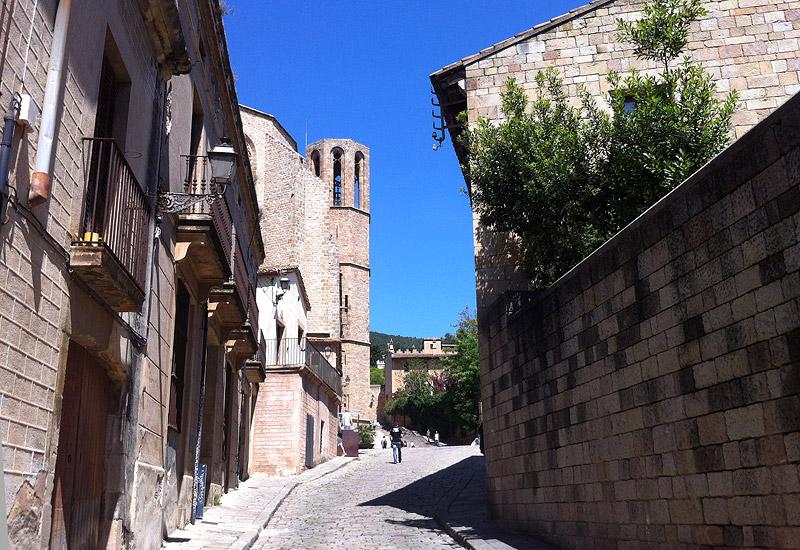 Entrada al Monasterio de Pedralbes de Barcelona