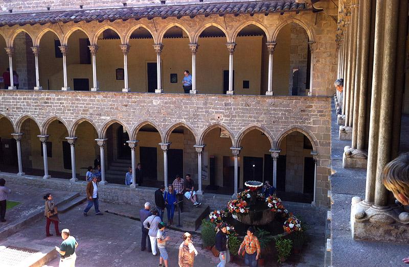 Claustro del Monasterio de Pedralbes