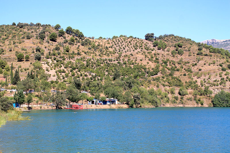 Panorama del Embalse de Siurana
